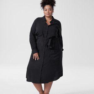 Universal Standard Michelle Cupro Dress XL
